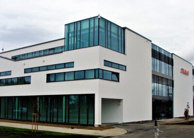 Neubau (new headquarters of Strabag), Pruszków